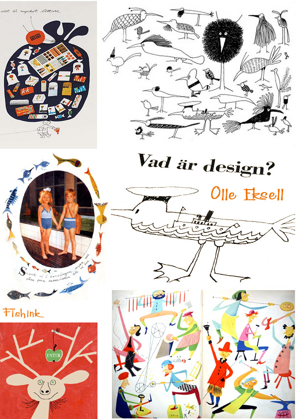 Olle Eksell Swedish Graphic Designer