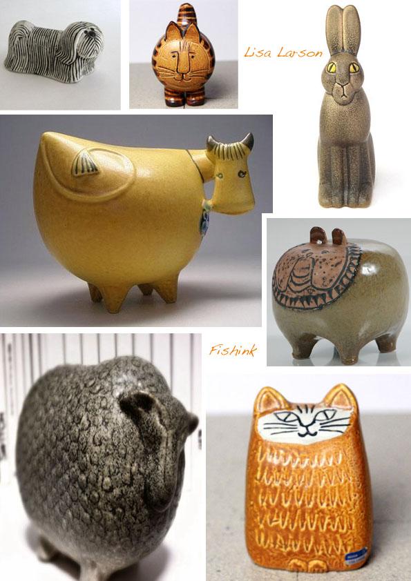 Lisa Larson Swedish Ceramic Designer