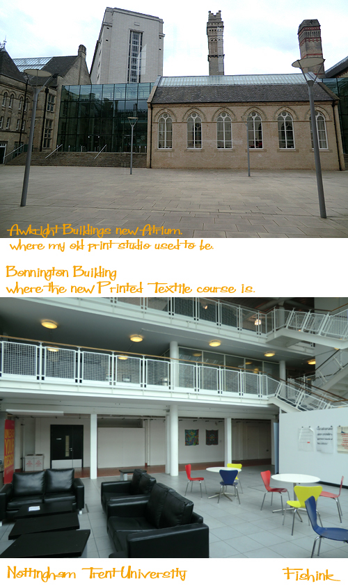 Where Is The Bonnington Building Nottingham Trent University