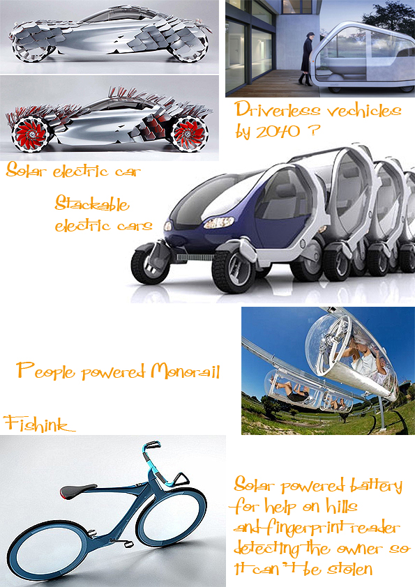 Future Travel . Boy's Toys to Space vehicles and Green ...
