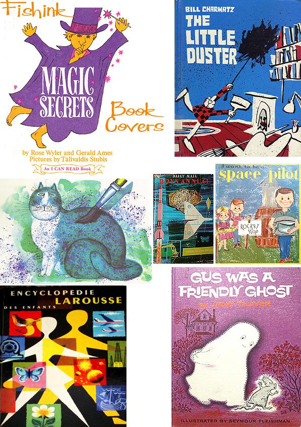 Fishinkblog 5129 Vintage Book Covers 2