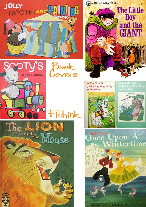 Fishinkblog 5130 Vintage Book Covers 3