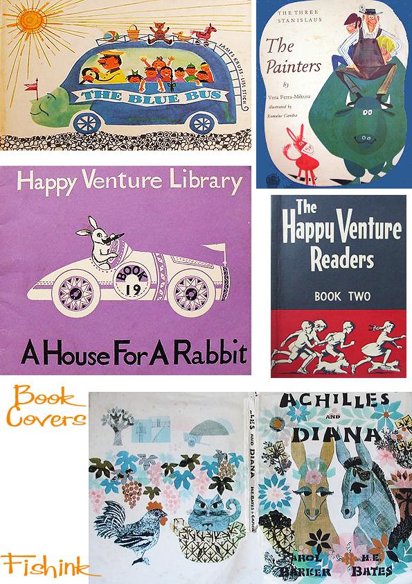 Fishinkblog 5131 Vintage Book Covers 4