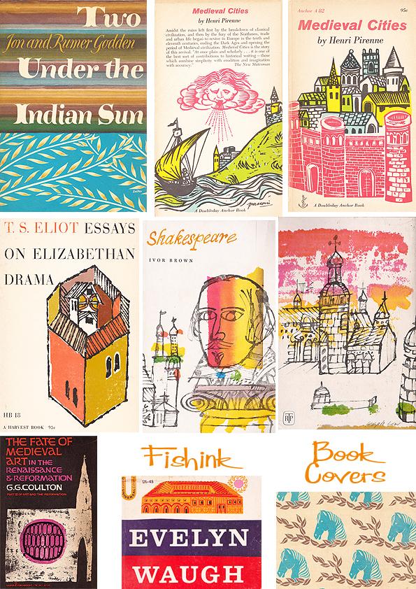 Fishinkblog 5132 Vintage Book Covers 5