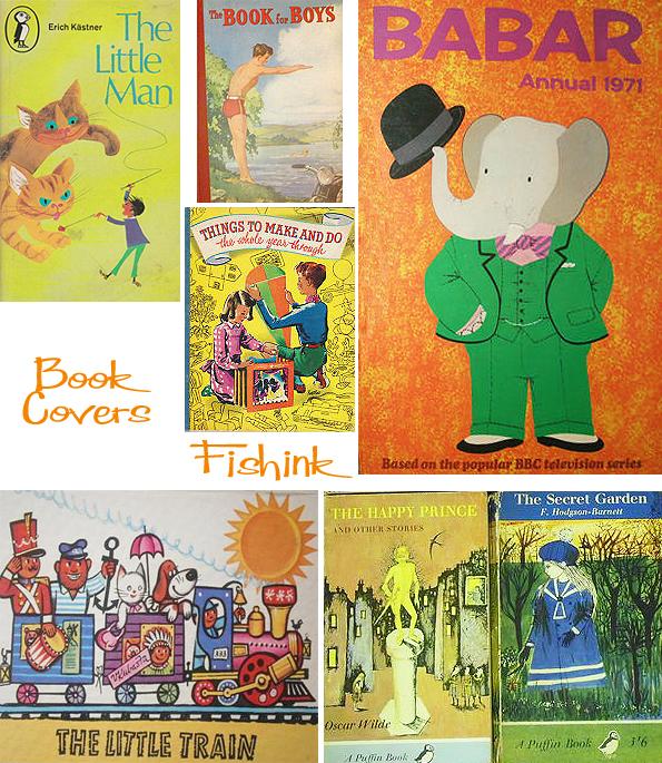 Fishinkblog 5134 Vintage Book Covers 7