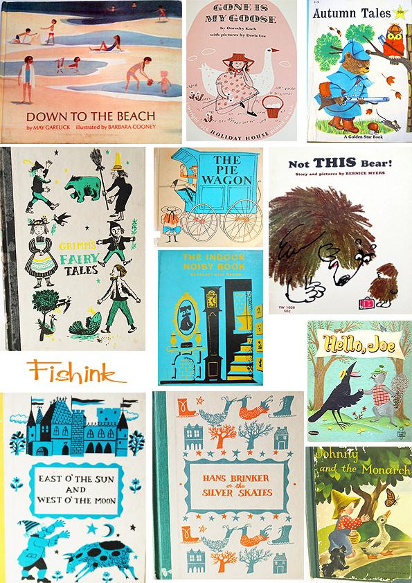 Fishinkblog 5459 Vintage Book Covers 1