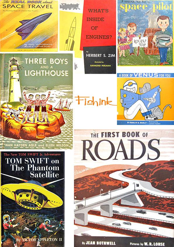 Fishinkblog 5461 Vintage Book Covers 3