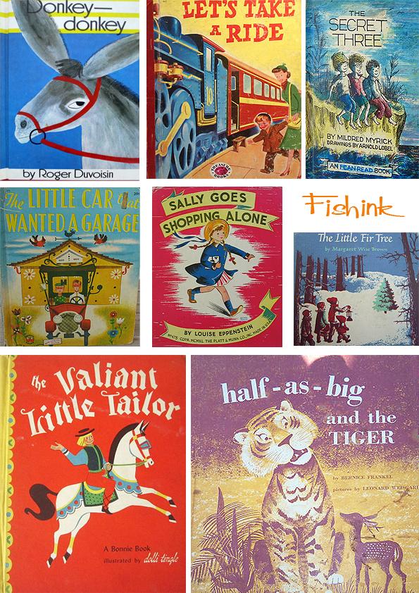 Fishinkblog 5462 Vintage Book Covers 4