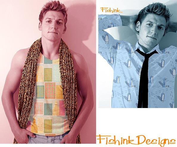 Fishink Textile Designs