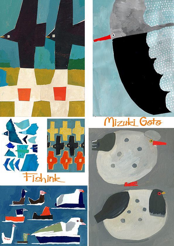 Goto Japan  city pictures gallery : Mizuki Goto Japanese Collage Artist |