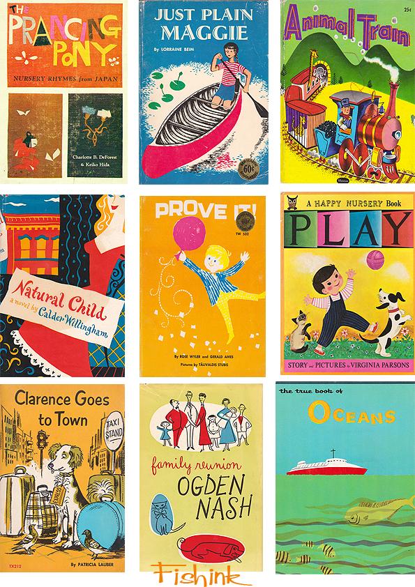 Fishinkblog 5466 Vintage Book Covers 9