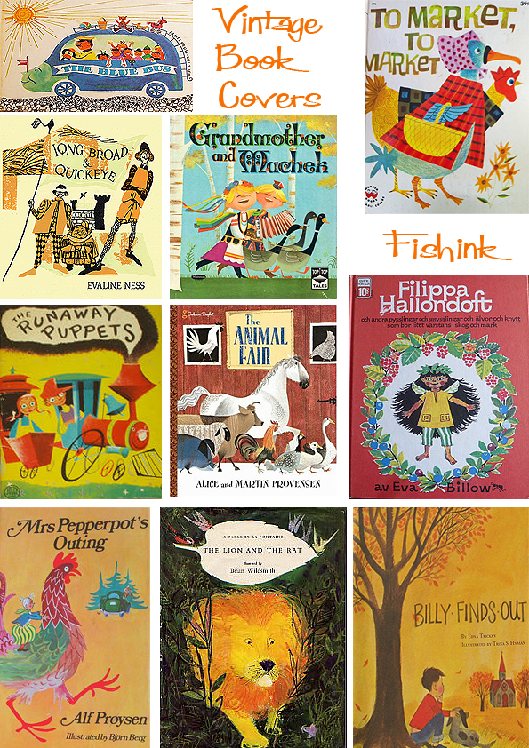 Book Cover Images For Kids : Vintage children s book covers