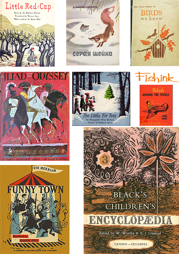 Fishinkblog 5662 Vintage Book Covers 3