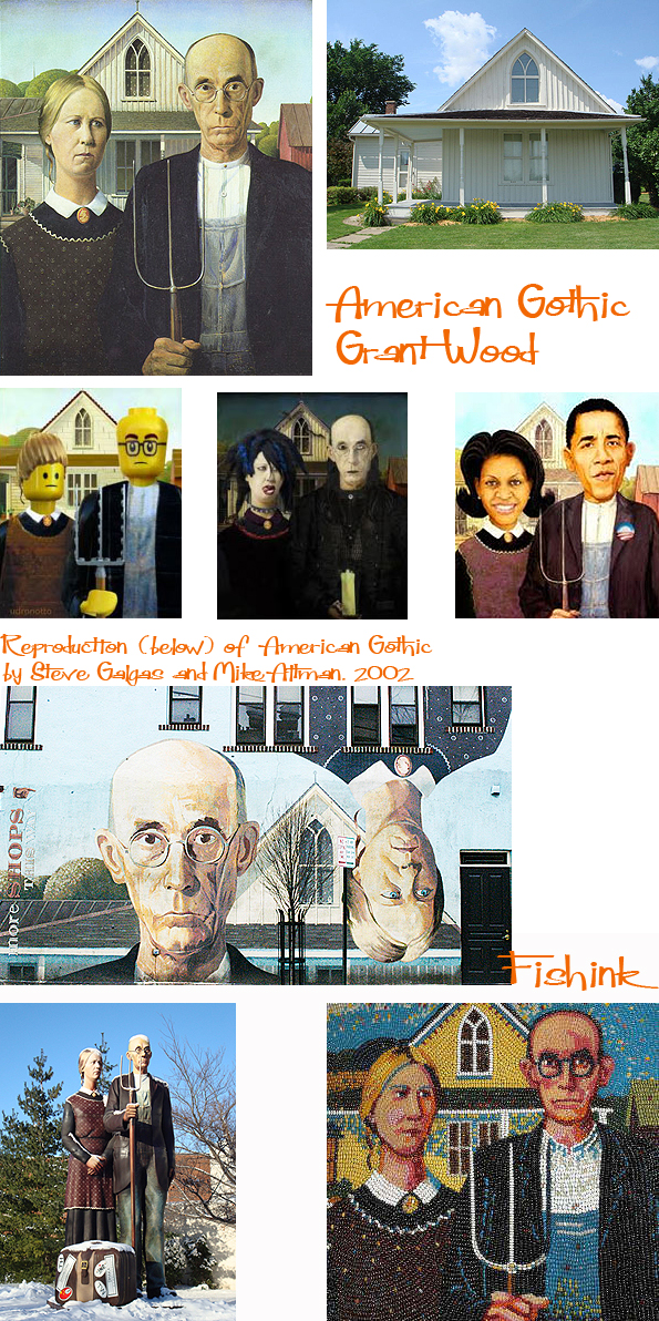 Grant Wood American Gothic And His Love Of The Landscape