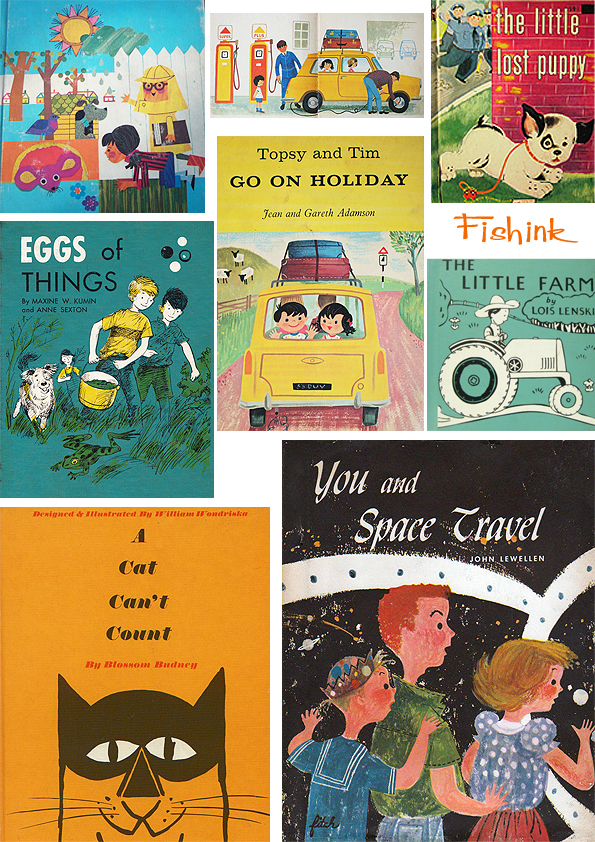 Fishinkblog 5860 Vintage Book Covers 3
