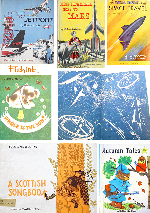 Fishinkblog 5863 Vintage Book Covers 6