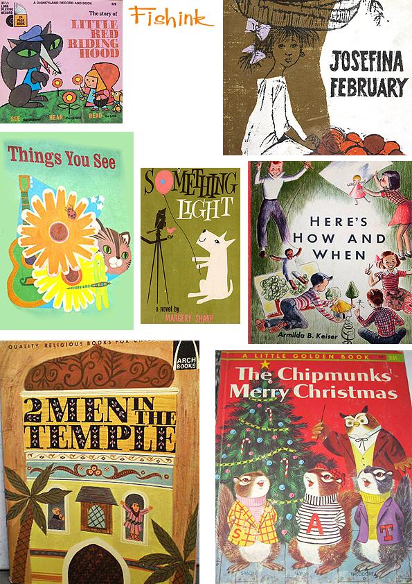 Fishinkblog 5868 Vintage Book Covers 2