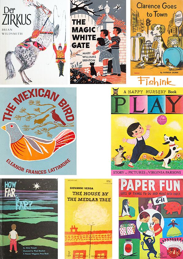 Fishinkblog 5869 Vintage Book Covers 3
