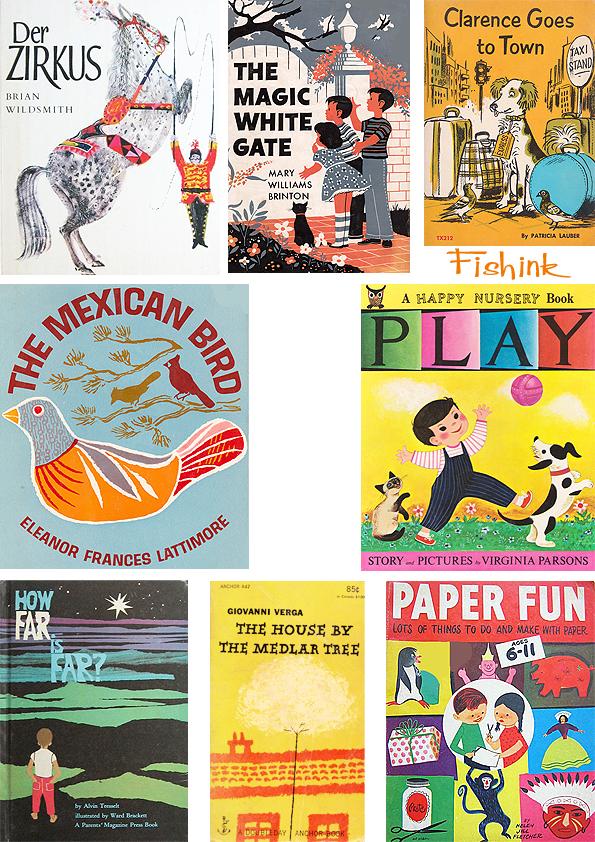 Fishinkblog 5869 Vintage Book Covers 3