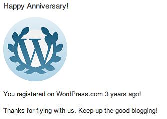 Fishinkblog 6076 WordPress Anniversary
