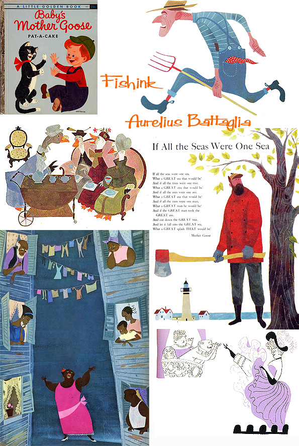 Aurelius Battaglia Disney Illustrator Creating Midcentury