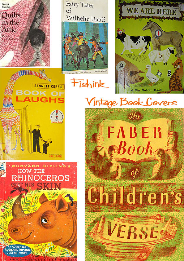 Fishinkblog 6713 Vintage Kid's Books 6