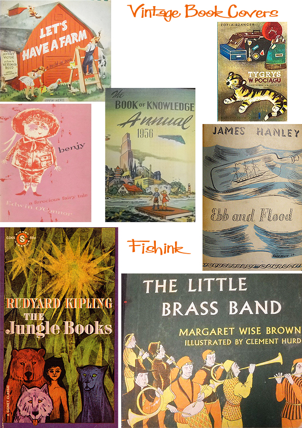 Fishinkblog 6715 Vintage Kid's Books 8