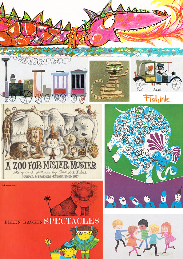 Fishinkblog 6720 Vintage Kid's Books 17