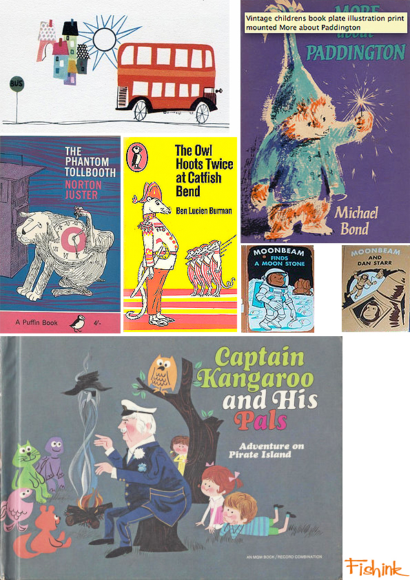 Fishinkblog 6720 Vintage Kid's Books 18