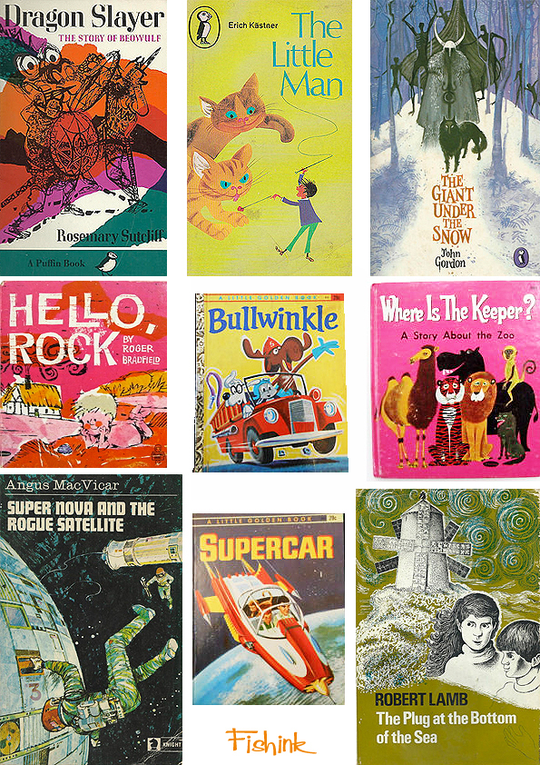 Fishinkblog 6720 Vintage Kid's Books 19