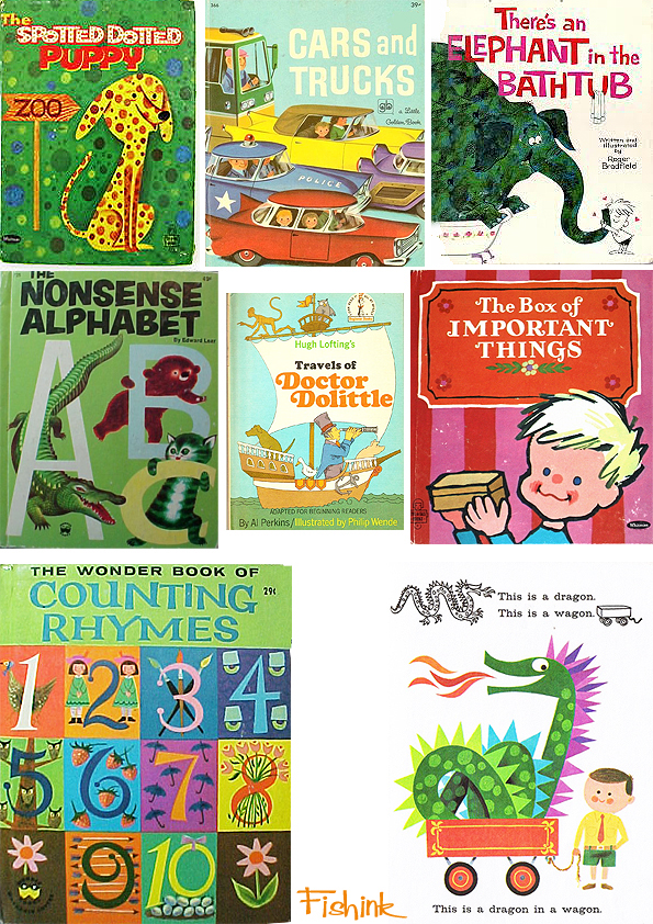Fishinkblog 6720 Vintage Kid's Books 20