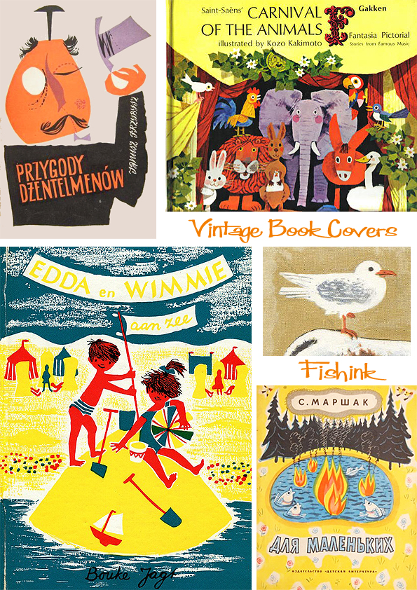 Fishinkblog 6720 Vintage Kid's Books 22