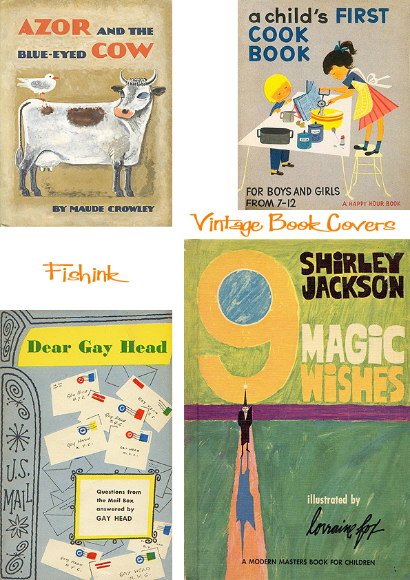 Fishinkblog 6720 Vintage Kid's Books 23
