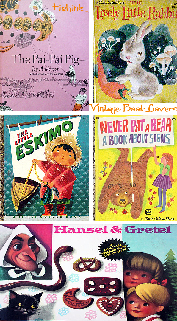 Fishinkblog 6720 Vintage Kid's Books 24