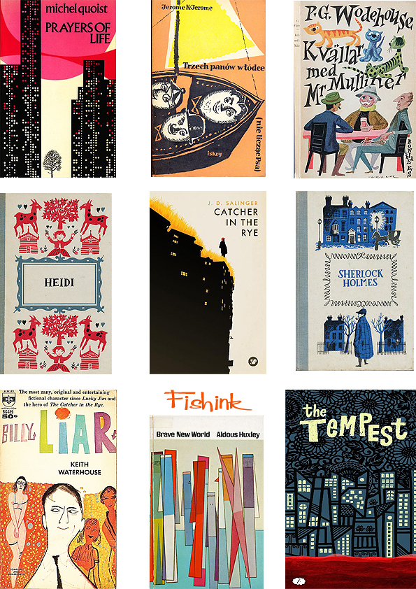 Fishinkblog 7005 Vintage Book Covers 1