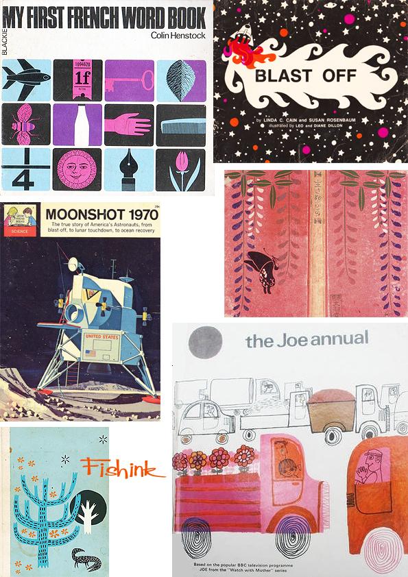 Fishinkblog 7009 Vintage Book Covers 5
