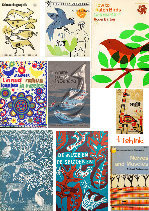 Fishinkblog 7011 Vintage Book Covers 7