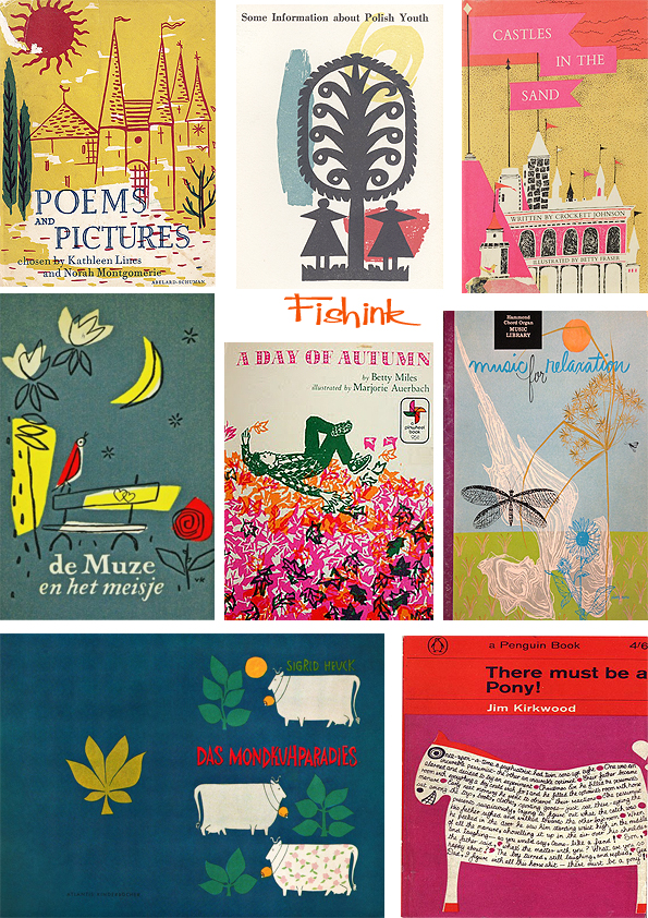 Fishinkblog 7012 Vintage Book Covers 8