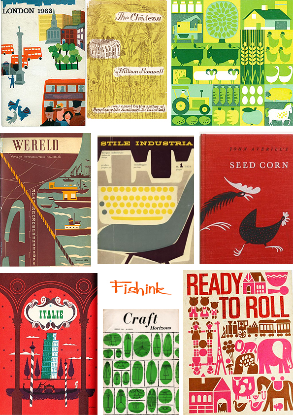 Fishinkblog 7014 Vintage Book Covers 10