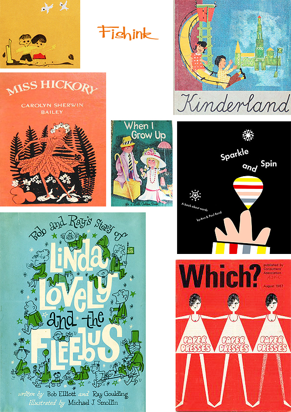 Fishinkblog 7019 Vintage Book Covers 15