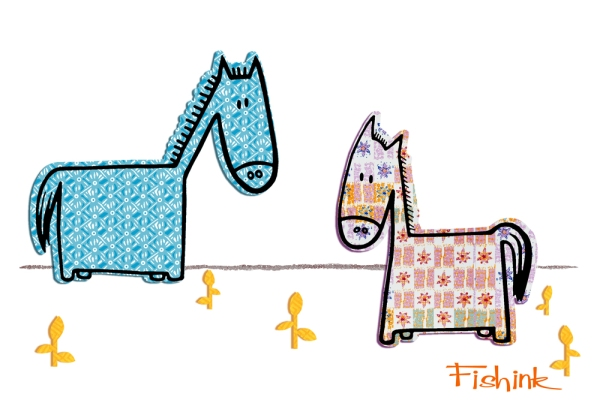 Fishink Horses