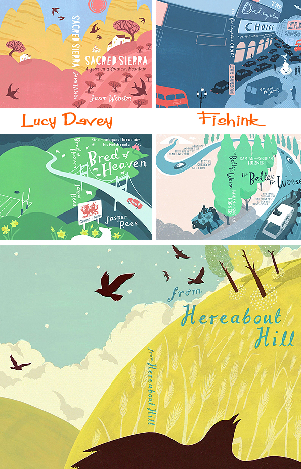 Lucy Davey Illustrations And Book Covers From Bristol - Emma lucy braun map of us