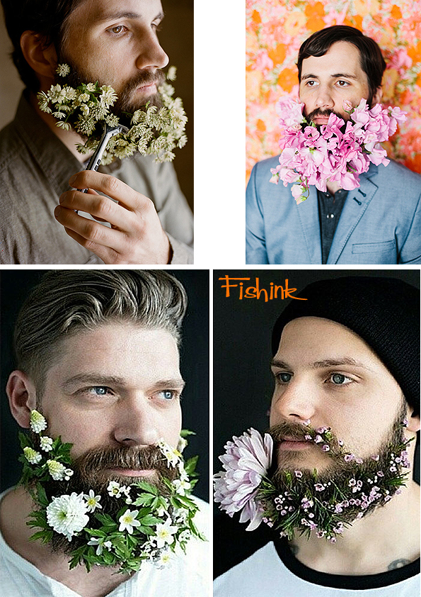 Fishinkblog 7845 Flowers in Beards 1