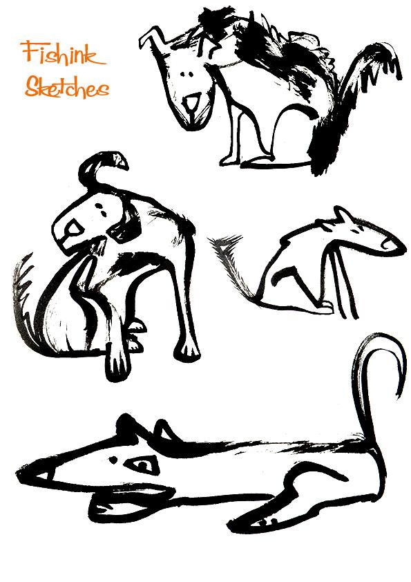 Fishinkblog 7882 Fishink Sketches 1