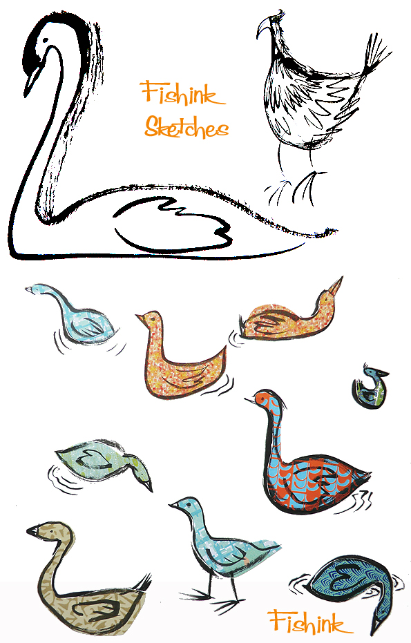 Fishinkblog 8006 Fishink Sketches 1