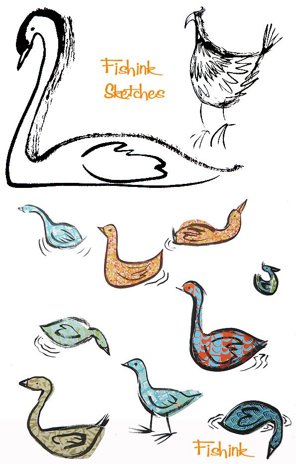 Fishinkblog 8006 Fishink Sketches 1