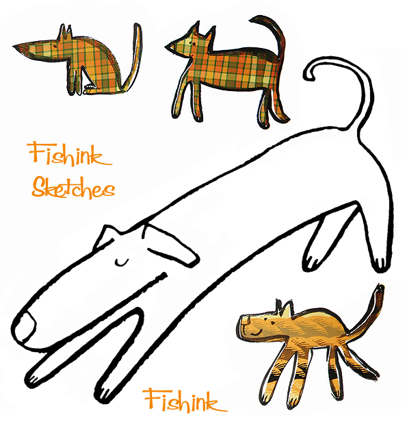 Fishinkblog 8007 Fishink Sketches 2