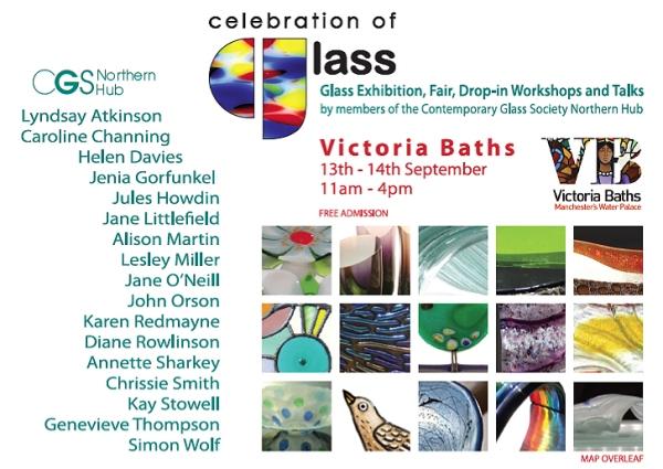 Glass event Victoria Baths