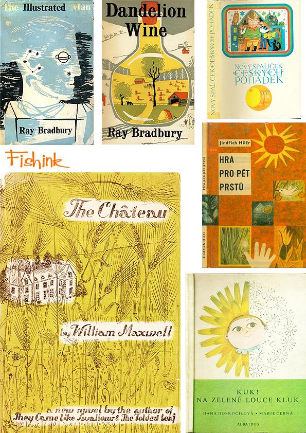 Fishinkblog 8061 Vintage Book Covers 1