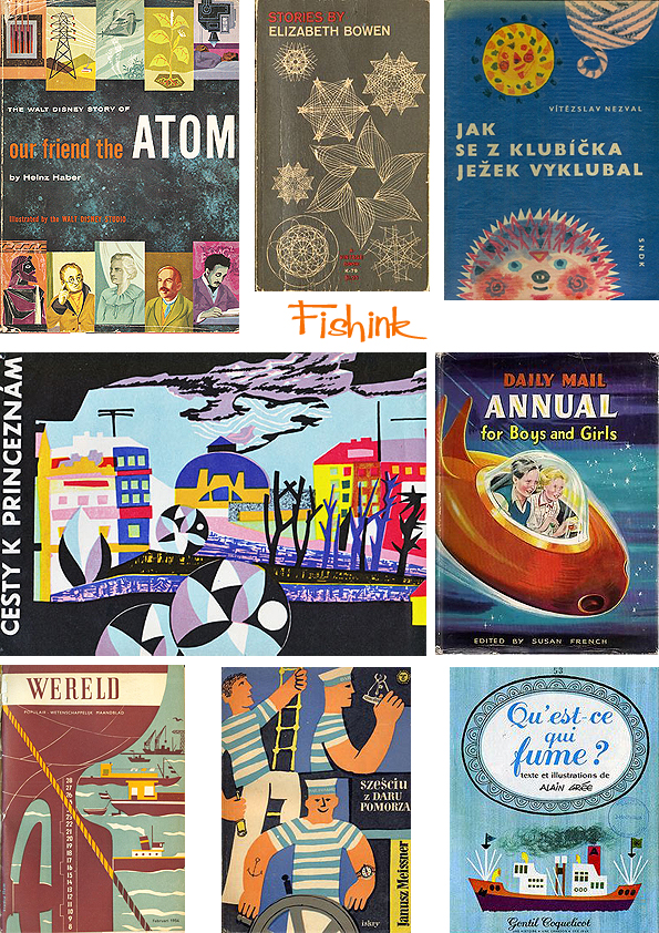 Fishinkblog 8062 Vintage Book Covers 2